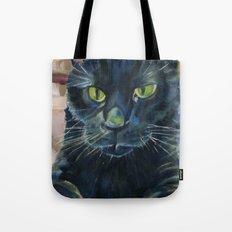 Totoro the cat Tote Bag