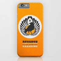 iPhone & iPod Case featuring Karasuno High Volleyball Club by robin