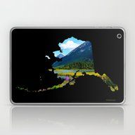 Alaska Outline - God's C… Laptop & iPad Skin