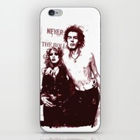 Sid and Nancy iPhone & iPod Skin
