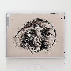 skull with demons struggling to escape Laptop & iPad Skin