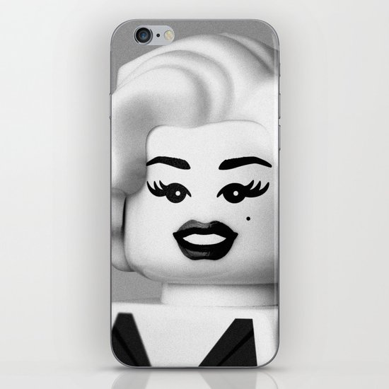 Portrait of a Girl iPhone & iPod Skin