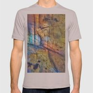 Labradorite Macro Mens Fitted Tee Cinder SMALL