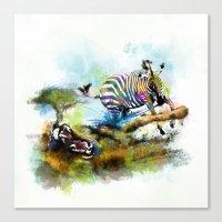 Smash your pattern! Canvas Print