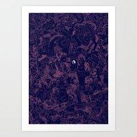 Eye. Art Print