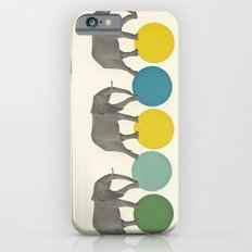 Travelling Elephants Slim Case iPhone 6s