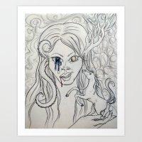 Ughh [revised] Art Print