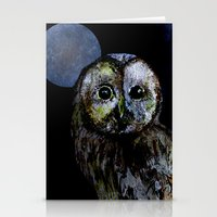 The Night Owl Stationery Cards