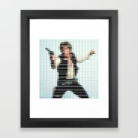 Han Solo - StarWars - Pantone Swatch Art Framed Art Print