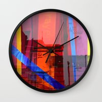 Distortion 3 Wall Clock