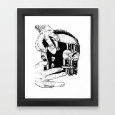 hot man vicious Framed Art Print