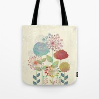 Flower Tales Tote Bag
