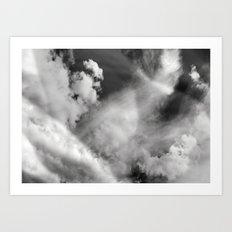 A Cloudy Expression Art Print