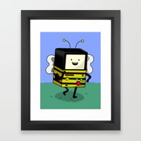BEE-MO Framed Art Print