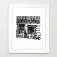 METROLAND Framed Art Print