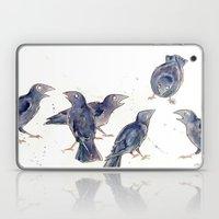 Gossip of the Crows Laptop & iPad Skin
