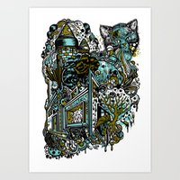 The Castle Of Doom And S… Art Print
