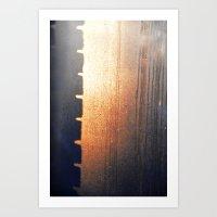 Brick Mystery Art Print