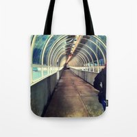 Onward Into The Tunnel F… Tote Bag