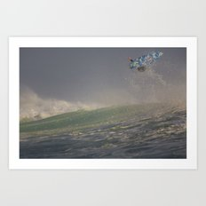 Surfer by Boone Speed Art Print