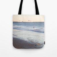 Birdy Beach  Tote Bag
