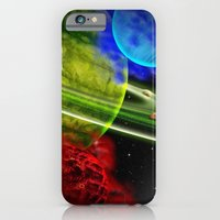 iPhone & iPod Case featuring Fire and Ice by Mr D's Abstract Adventures