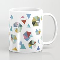 Color Hexagons Mug