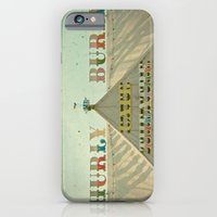 iPhone & iPod Case featuring Hurly Burly by Cassia Beck