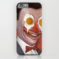 iPhone & iPod Case featuring Mr. Breakfast by Chris B. Murray