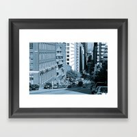 California Street Framed Art Print