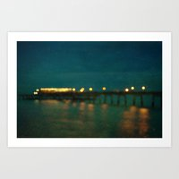 Deal After Sunset Art Print