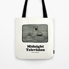 Midnight Television ( Th… Tote Bag