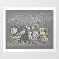 The Mild Rumpus Art Print
