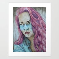 Sick Art Print