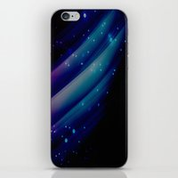 blue lights iPhone & iPod Skin