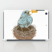 Twisty Bird iPad Case