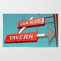 Oasis Sign Rug