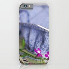 knitting & flowers iPhone 6 Slim Case