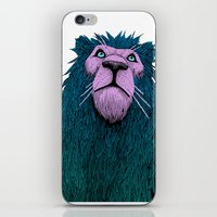 Lion Bust iPhone & iPod Skin