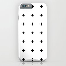 Black Plus On White /// … iPhone 6 Slim Case