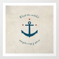 Sailor Before Captain Art Print