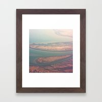 Aerial View Framed Art Print