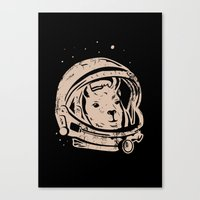 Astrollama Canvas Print