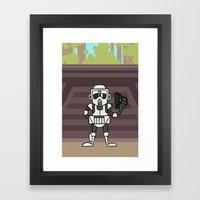 EP6 : Scout Trooper Framed Art Print