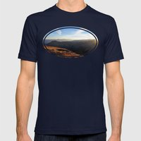 Happiness Happening Mens Fitted Tee Navy SMALL