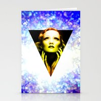 Marlene Dietrich Golden … Stationery Cards