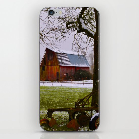 Remnants of a Simpler Time - The Barn iPhone & iPod Skin