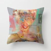 Destructuration 3 Throw Pillow