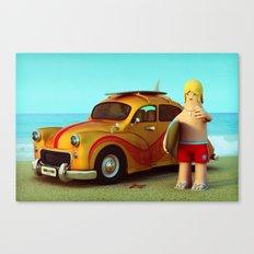 Surf Dude Canvas Print