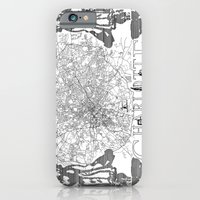 Charlotte Map iPhone 6 Slim Case
